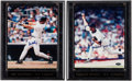 Autographs:Photos, Don Mattingly and Mariano Rivera Signed Photograph Plaques Lot of2....