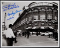 Autographs:Photos, Mickey Owen and Tom Henrich Signed & Inscribed Photograph....