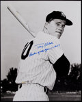"Autographs:Photos, Tony Kubek ""Rookie of the Year 1957"" Signed OversizedPhotograph...."