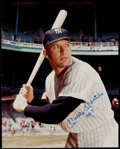 "Autographs:Photos, 1990's Mickey Mantle ""No. 7"" Signed Oversized Photograph. ..."