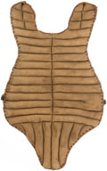 Baseball Collectibles:Others, 1930's Catcher's Gear Chest Protector....