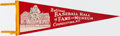 Baseball Collectibles:Others, Vintage National Baseball Hall of Fame & Museum Pennant. ...