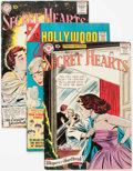 Silver Age (1956-1969):Romance, Comic Books - Assorted Silver Age Romance Comics Group of 5(Various Publishers, 1958-66).... (Total: 5 Comic Books)