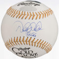 "Autographs:Baseballs, Derek Jeter ""5x G.G."" Single Signed Baseball. ..."