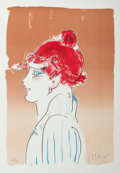 Fine Art - Work on Paper:Print, Peter Max (American, b. 1937). Girl from Ibiza, 1981.Lithograph in colors. 24 x 17 inches (61.0 x 43.2 cm) (image).29-...