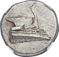 Ancients:Greek, Ancients: LYCIA. Phaselis. Ca. 4th century BC. AR stater (23mm,10.45 gm, 2h). NGC MS 5/5 - 4/5....