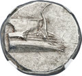 Ancients:Greek, Ancients: LYCIA. Phaselis. Ca. 4th century BC. AR stater (23mm,10.37 gm, 7h). NGC MS 5/5 - 4/5....