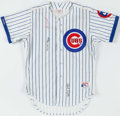 Autographs:Checks, Chicago Cubs Multi Signed Jersey - Pafko & Girardi....