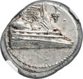 Ancients:Greek, Ancients: LYCIA. Phaselis. Ca. 4th century BC. AR stater (23mm,10.32 gm, 6h). NGC Choice AU 4/5 - 4/5, die shift....