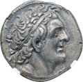 Ancients:Greek, Ancients: PTOLEMAIC EGYPT. Ptolemy I Soter (305-282 BC). AR tetradrachm (26mm, 14.91 gm, 12h). NGC AU ★ 5/5 - 5/5, Fine Style....