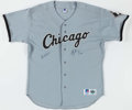 Autographs:Jerseys, Charlie Hough Signed Chicago White Sox Jersey....