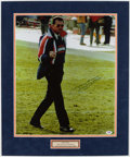 Football Collectibles:Photos, Mike Ditka Signed Oversized Photograph....
