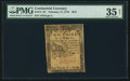 Continental Currency February 17, 1776 $2/3 PMG Choice Very Fine 35 Net