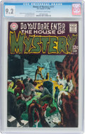 Silver Age (1956-1969):Horror, House of Mystery #177 (DC, 1968) CGC NM- 9.2 Off-white to white pages....