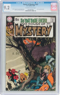 Bronze Age (1970-1979):Horror, House of Mystery #187 (DC, 1970) CGC NM- 9.2 Off-white to whitepages....