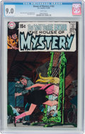 Bronze Age (1970-1979):Horror, House of Mystery #182 (DC, 1969) CGC VF/NM 9.0 White pages....