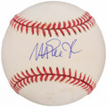 Autographs:Baseballs, Magic Johnson Single Signed Baseball....