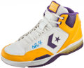 Basketball Collectibles:Others, Magic Johnson Signed Converse Shoe. ...