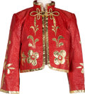 Music Memorabilia:Costumes, A Connie Francis Jacket Gifted to Her By Prince Rainier of Monaco,Circa 1980s....
