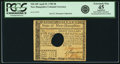 Colonial Notes:New Hampshire, New Hampshire April 29, 1780 $8 Hole Cancel PCGS Apparent ExtremelyFine 45.. ...