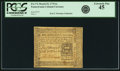 Colonial Notes:Pennsylvania, Pennsylvania March 25, 1775 6s PCGS Extremely Fine 45.. ...