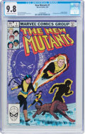 Modern Age (1980-Present):Superhero, The New Mutants #1 (Marvel, 1983) CGC NM/MT 9.8 Off-white to whitepages....