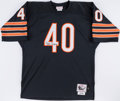 Football Collectibles:Uniforms, Gale Sayers Signed Chicago Bears Jersey. ...