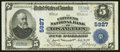 National Bank Notes:California, Los Angeles, CA - $5 1902 Plain Back Fr. 607 The Citizens NB Ch. # 5927. ...