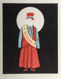Fine Art - Work on Paper:Print, Robert Indiana (b. 1928). Gertrude Stein, 1977. Lithographin colors on Arches. 17-7/8 x 14 inches (45.6 x 35.6 cm) (ima...