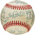 Autographs:Baseballs, 1983 Baltimore Orioles Team Signed Baseball (24 Signatures)....