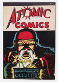 Golden Age (1938-1955):Crime, Atomic Comics #1 (Green Publishing Co., 1946) Condition: VG/FN....