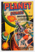 Golden Age (1938-1955):Science Fiction, Planet Comics #43 (Fiction House, 1946) Condition: VG+....