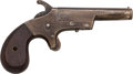 Handguns:Derringer, Palm, Union Single Shot Derringer....
