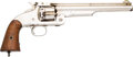 Handguns:Single Action Revolver, Smith & Wesson First Model Old Russian Single ActionRevolver....