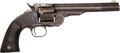 Handguns:Single Action Revolver, Smith & Wesson First Model Schofield Single Action Revolver....
