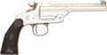 Handguns:Target / Single Shot Pistol, Smith & Wesson 1891 Model Single Shot Pistol....