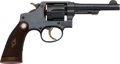 Handguns:Double Action Revolver, Smith & Wesson HE Third Model Regulation Police Double Action Revolver....