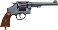 Handguns:Double Action Revolver, Smith & Wesson Mark II Royal Engineers Canadian Service Double Action Revolver....