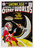 Silver Age (1956-1969):Science Fiction, Showcase #17 Adventures on Other Worlds (DC, 1958) Condition:GD+....