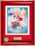 Animation Art:Poster, The Little Mermaid/Beauty and the Beast Signed Art PrintGroup of 2 (Walt Disney, 1989/91).... (Total: 2 Items)