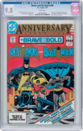 Modern Age (1980-Present):Superhero, The Brave and the Bold #200 Batman and Batman (DC, 1983) CGC NM/MT9.8 White pages....