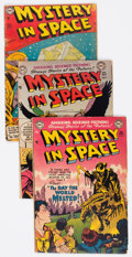 Golden Age (1938-1955):Science Fiction, Mystery in Space #6, 7, and 22 Group (DC, 1952-54).... (Total: 3Comic Books)