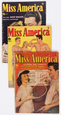 Golden Age (1938-1955):Romance, Miss America Magazine Group of 7 (Miss AmericaPublishing/Marvel/Atlas, 1948-50).... (Total: 7 Comic Books)