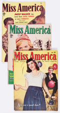 Golden Age (1938-1955):Romance, Miss America Magazine Group of 5 (Miss AmericaPublishing/Marvel/Atlas, 1947-51) Condition: Average VG.... (Total:5 Comic Books)