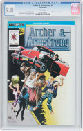Modern Age (1980-Present):Superhero, Archer & Armstrong #1 (Valiant, 1992) CGC NM/MT 9.8 White pages....