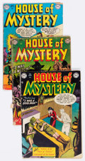 Golden Age (1938-1955):Horror, House of Mystery Group of 4 (DC, 1952-53).... (Total: 4 ComicBooks)