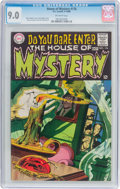 Silver Age (1956-1969):Horror, House of Mystery #176 (DC, 1968) CGC VF/NM 9.0 Off-white pages....
