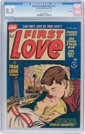 Golden Age (1938-1955):Romance, First Love Illustrated #11 File Copy (Harvey, 1951) CGC VF+ 8.5Light tan to off-white pages....
