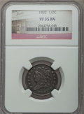 Half Cents, 1832 1/2 C VF35 NGC. NGC Census: (12/355). PCGS Population:(30/604). Mintage 154,000....