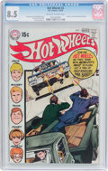 Bronze Age (1970-1979):Miscellaneous, Hot Wheels #3 (DC, 1970) CGC VF+ 8.5 Off-white to white pages....